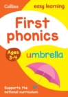 First Phonics Ages 3-4 - Book