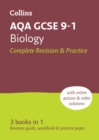 AQA GCSE 9-1 Biology All-in-One Complete Revision and Practice : Ideal for Home Learning, 2021 Assessments and 2022 Exams - Book