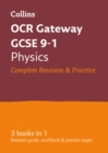 GCSE Physics OCR Gateway Complete Practice and Revision Guide : GCSE Grade 9-1 - Book