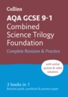Grade 9-1 GCSE Combined Science Trilogy Foundation AQA All-in-One Complete Revision and Practice (with free flashcard download) - Book