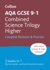 Grade 9-1 GCSE Combined Science Trilogy Higher AQA All-in-One Complete Revision and Practice (with free flashcard download) - Book