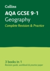 AQA GCSE 9-1 Geography All-in-One Complete Revision and Practice : Ideal for Home Learning, 2021 Assessments and 2022 Exams - Book