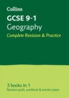 GCSE 9-1 Geography All-in-One Complete Revision and Practice : Ideal for Home Learning, 2021 Assessments and 2022 Exams - Book