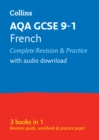 AQA GCSE 9-1 French All-in-One Complete Revision and Practice : Ideal for Home Learning, 2021 Assessments and 2022 Exams - Book