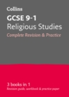 GCSE 9-1 Religious Studies All-in-One Complete Revision and Practice : Ideal for Home Learning, 2021 Assessments and 2022 Exams - Book