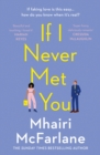 If I Never Met You - eBook