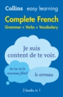 Easy Learning French Complete Grammar, Verbs and Vocabulary (3 books in 1) - eBook