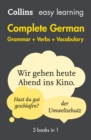 Easy Learning German Complete Grammar, Verbs and Vocabulary (3 books in 1) - eBook
