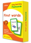 First Words Flashcards - Book