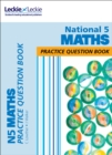 National 5 Maths Practice Question Book : Extra Practice for Sqa Exam Topics - Book
