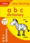 ABC Dictionary Ages 3-4 - Book
