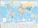 Collins World Wall Laminated Map - Book