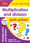 Multiplication & Division Quick Quizzes Ages 7-9 - Book