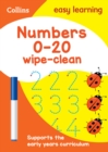 Numbers 0-20 Age 3-5 Wipe Clean Activity Book : Ideal for Home Learning - Book