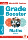 AQA GCSE 9-1 Maths Higher Grade Booster (Grades 5-9) : Ideal for Home Learning, 2021 Assessments and 2022 Exams - Book