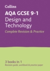 AQA GCSE 9-1 Design & Technology All-in-One Complete Revision and Practice : Ideal for Home Learning, 2021 Assessments and 2022 Exams - Book