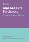 AQA GCSE 9-1 Psychology All-in-One Complete Revision and Practice : Ideal for Home Learning, 2021 Assessments and 2022 Exams - Book