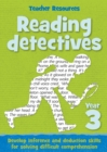Year 3 Reading Detectives : Teacher Resources Year 3 - Book