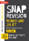 Romeo and Juliet: AQA GCSE 9-1 English Literature Text Guide : For the 2022 Exams - Book