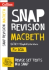 Macbeth: AQA GCSE 9-1 English Literature Text Guide : For the 2022 Exams - Book