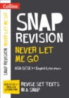 Never Let Me Go: AQA GCSE 9-1 English Literature Text Guide : For the 2022 Exams - Book