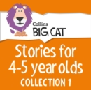 Stories for 4 to 5 year olds: Collection 1 (Collins Big Cat Audio) - eAudiobook