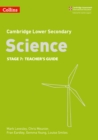 Lower Secondary Science Teacher's Guide: Stage 7 - Book