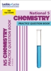 National 5 Chemistry Practice Question Book for New 2019 Exams : Extra Practice for Sqa Exam Topics - Book