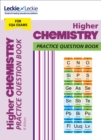 Higher Chemistry Practice Question Book : Extra Practice for Sqa Exam Topics - Book