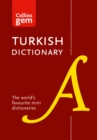 Collins Turkish Gem Dictionary : The World's Favourite Mini Dictionaries - Book