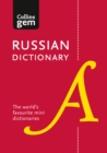 Collins Russian Gem Dictionary : The World's Favourite Mini Dictionaries - Book