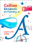 Collins Children's Dictionary : Learn with Words - Book