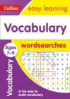 Vocabulary Word Searches Ages 7-9 : Prepare for School with Easy Home Learning - Book