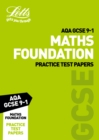 AQA GCSE Maths Foundation Practice Test Papers - Book