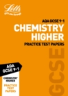 AQA GCSE Chemistry Higher Practice Test Papers - Book