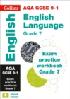 AQA GCSE 9-1 English Language Exam Practice Workbook for grade 7 - Book
