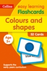 Colours and Shapes Flashcards - Book