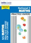 National 5 Maths Practice Papers for New 2019 Exams : Prelim Papers for Sqa Exam Revision - Book