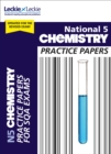National 5 Chemistry Practice Papers for New 2019 Exams : Prelim Papers for Sqa Exam Revision - Book