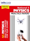 National 5 Physics Practice Papers for New 2019 Exams : Prelim Papers for Sqa Exam Revision - Book