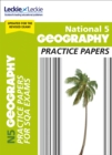 National 5 Geography Practice Papers for New 2019 Exams : Prelim Papers for Sqa Exam Revision - Book