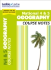 National 4/5 Geography Course Notes for New 2019 Exams : For Curriculum for Excellence Sqa Exams - Book