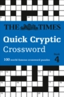 The Times Quick Cryptic Crossword book 4 : 100 World-Famous Crossword Puzzles - Book