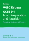GCSE Food Preparation and Nutrition Grade 9-1 WJEC Eduqas Complete Practice and Revision Guide with free online Q&A flashcard download - Book