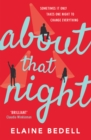 About That Night - eBook