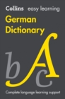 Easy Learning German Dictionary - Book