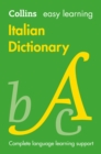 Easy Learning Italian Dictionary : Trusted Support for Learning - Book