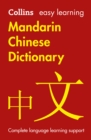 Easy Learning Mandarin Chinese Dictionary : Trusted Support for Learning - Book