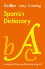 Easy Learning Spanish Dictionary - Book