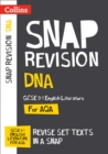 DNA: AQA GCSE 9-1 English Literature Text Guide : For the 2022 Exams - Book